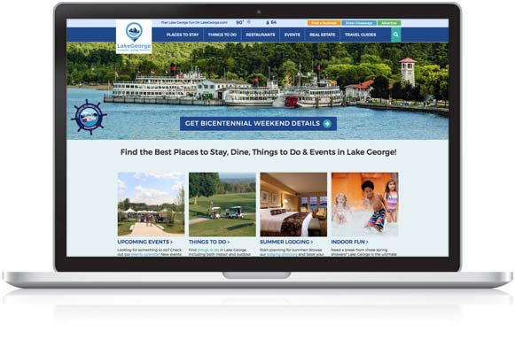LakeGeorge.com Homepage