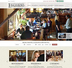 Longfellows Website Design