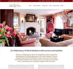 liberty rose bed and breakfast redesign