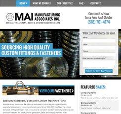 Manufacturing Associates Website Design