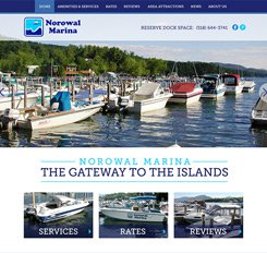 Norwal Marina Website Design