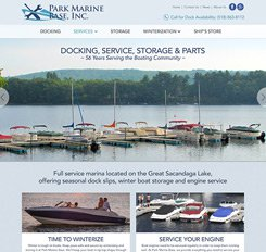 Park Marina Base Website Design