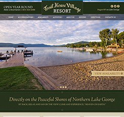 Trout House Village Resort Web Design