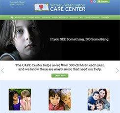 Warren Washington Care Center Website Design
