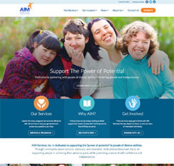 AIM Services Inc. Website Design and Development Thumbnail