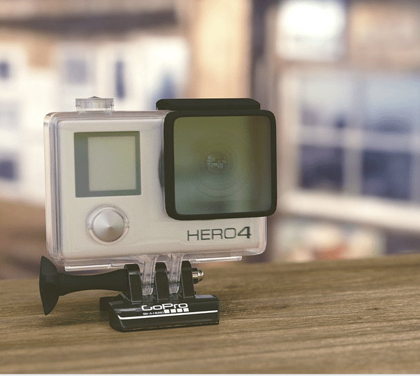 picture of a gopro video camera