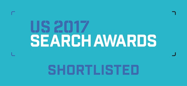 US Search Awards 2017 Shortlist Badge