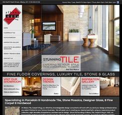 Albany Tile Website Design