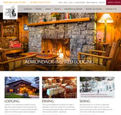 Garnet Hill Lodge Website Design