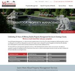 Maxwell Property Management Website Design