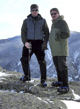Adirondack Guide Service photo of snowshoeing