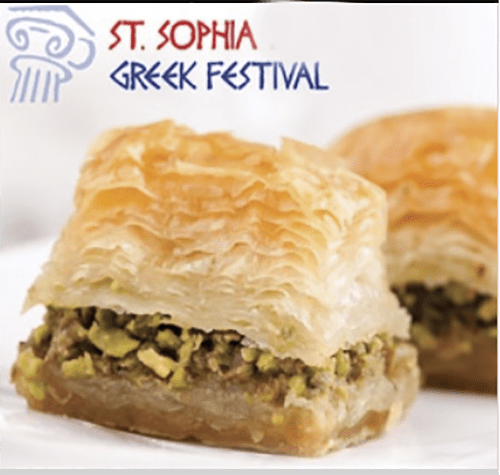 st. sophia greek festival image of food