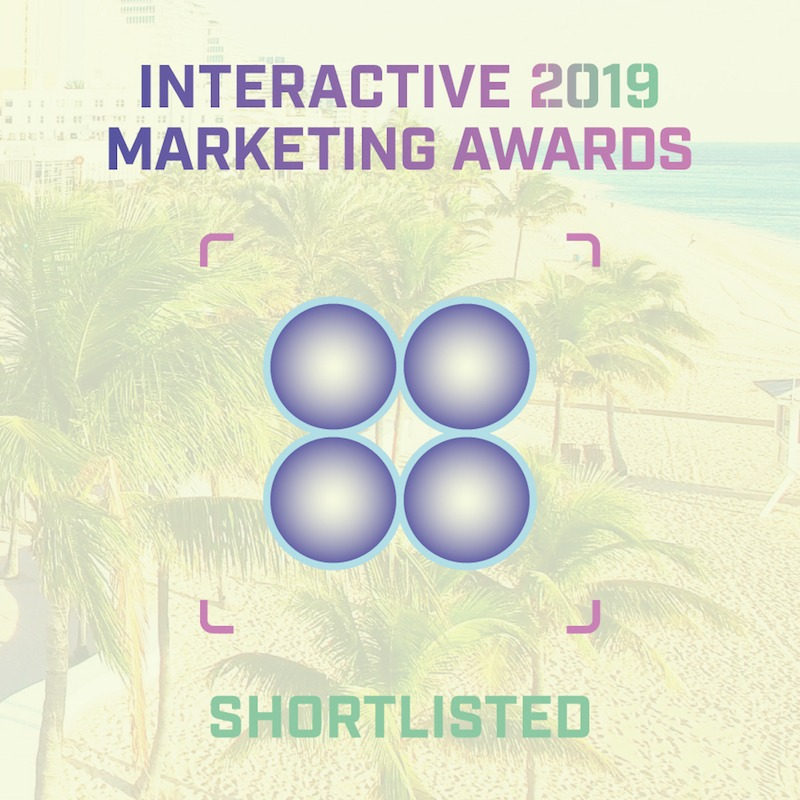 Interactive Marketing Awards 2019 shortlist badge