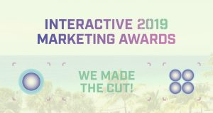 Interactive Marketing Awards 2019 shortlist badge
