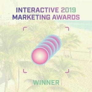 Interactive 2019 Marketing Awards Winner Logo