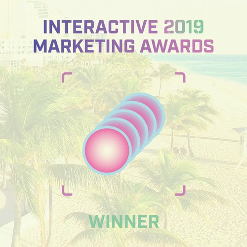 Interactive 2019 Marketing Awards Winner Logo