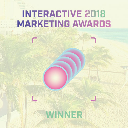 interactive 2019 marketing awards winner