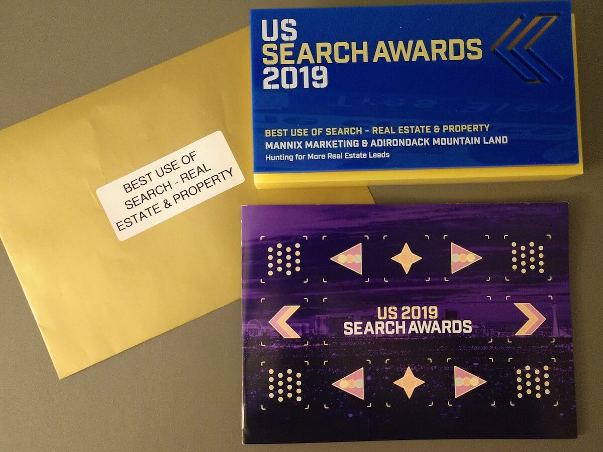 Mannix Marketing's US Search Award
