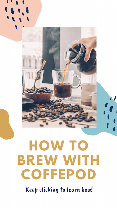 How to Brew with Coffeepod. Keep clicking to learn how!