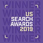 US Search Awards 2019 Winner