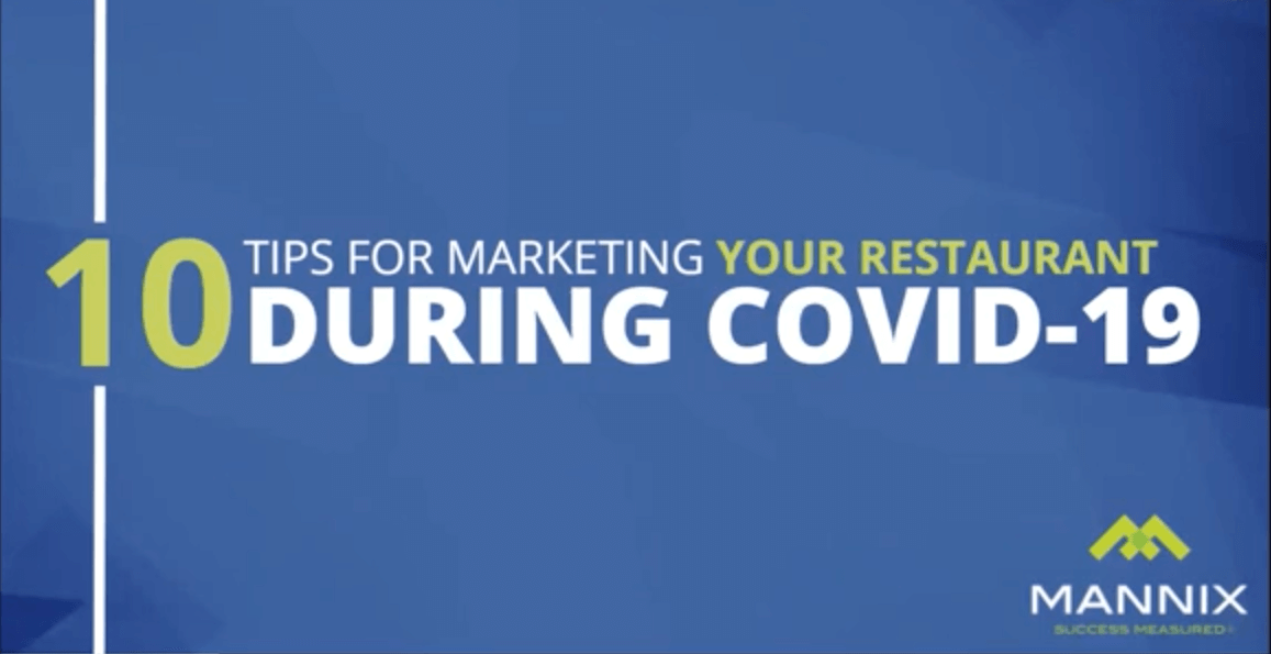 10 Tips for Marketing Your Restaurant During Covid-19