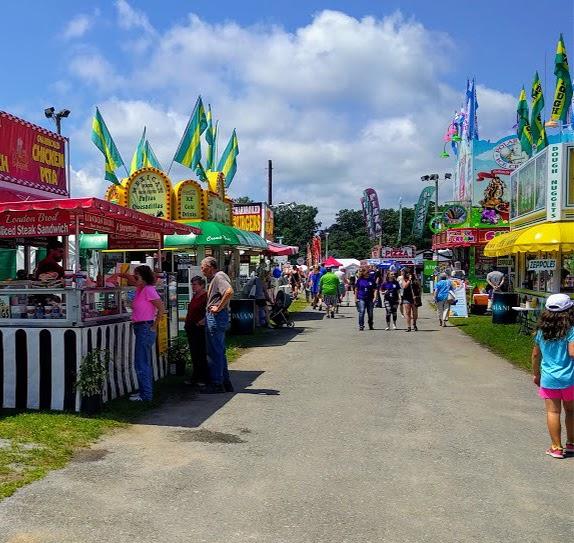 Saratoga County Fair Booths