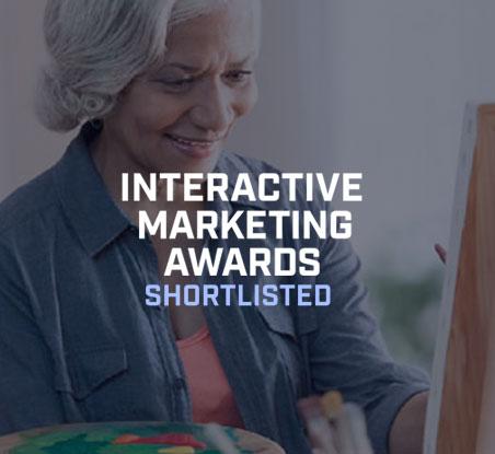 Interactive Marketing Awards Shortlisted