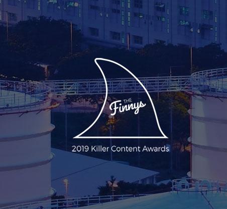 The Finnys - 2019 Killer Content award